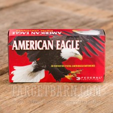 Federal American Eagle 357 SIG Ammunition - 50 Rounds of 125 Grain FMJ