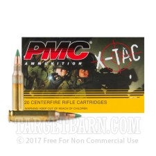 PMC X-Tac 5.56 NATO Ammunition - 600 Rounds of 62 Grain FMJ