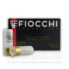 "12 Gauge - 2-3/4"" 00 Buck - Fiocchi High Velocity - 10 Rounds"