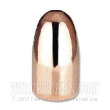".357"" Berry's .38/.357 Caliber Bullets - 1000 Qty - 158 Grain Plated Round Nose Double Struck"