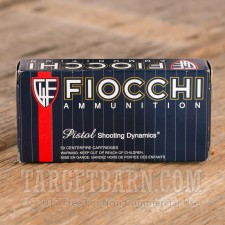 Fiocchi Shooting Dynamics 40 S&W Ammunition - 1000 Rounds of 165 Grain FMJ