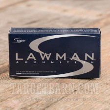 Speer Lawman 9mm Luger Ammunition - 1000 Rounds of 115 Grain TMJ