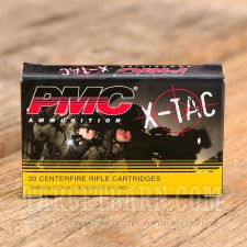 PMC X-TAC 5.56 NATO Ammunition - 1000 Rounds of 62 Grain FMJ