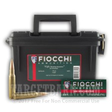 Fiocchi Ammo Can 308 Winchester Ammunition - 180 Rounds of 150 Grain FMJ