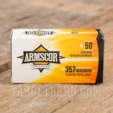 Armscor 357 Mag Ammunition - 1000 Rounds of 158 Grain FMJ