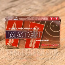 Hornady 5.56x45MM Ammunition - 20 Rounds of 75 Grain BTHP