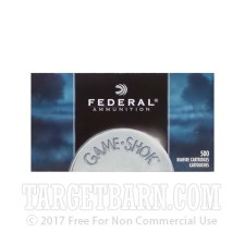 Federal Game-Shok 22 LR Ammunition - 50 Rounds of 31 Grain CPHP