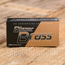 Blazer Brass 40 S&W Ammunition - 1000 Rounds of 180 Grain FMJ