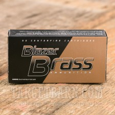 Blazer Brass 9mm Luger Ammunition - 1000 Rounds of 115 Grain FMJ