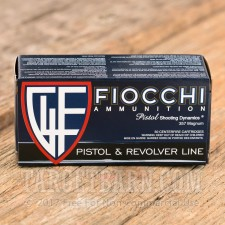 Fiocchi Shooting Dynamics 357 Magnum Ammunition - 1000 Rounds of 142 Grain FMJ