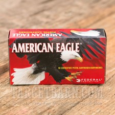 Federal American Eagle 9mm Luger Ammunition - 1000 Rounds of 124 Grain FMJ