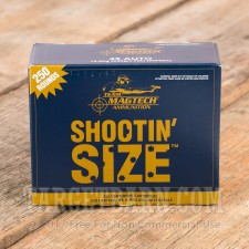 Magtech Shootin Size 45 ACP Ammunition - 250 Rounds of 230 Grain FMJ