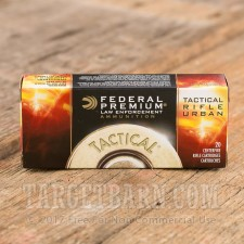 Federal Tactical TRU 223 Remington Ammunition - 20 Rounds of 55 Grain PT