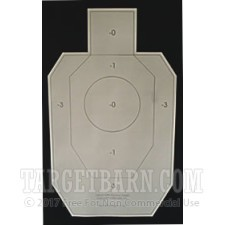 IDPA-P Paper Targets - IDPA Practice Target - 100 Count