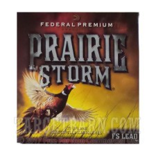 "Federal Premium Prairie Storm 12 Gauge Ammunition - 25 Rounds of 2-3/4"" 1-1/4 oz. #4 Shot"