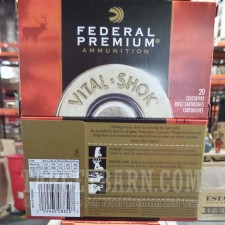 Federal Vital-Shok 308 Winchester Ammunition - 20 Rounds of 180 Grain Nosler Partition