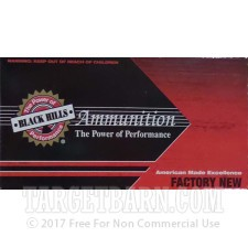 Black Hills 357 Magnum Ammunition - 50 Rounds of 125 Grain JHP