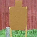 IDPA Pro Kit - 20 Cardboard Targets, Collapsible Stand, Furring Strips, Pasters and Spikes