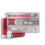 "Winchester Super-X 12 Gauge Ammunition - 250 Rounds of 2-3/4"" 1 oz. #6 Shot"