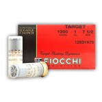 "Fiocchi 12 Gauge Ammunition - 25 Rounds of 2-3/4"" 1 oz. #7.5 Shot"