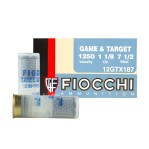 "Fiocchi Game & Target 12 Gauge Ammunition - 250 Rounds of 2-3/4"" 1-1/8 oz. #7.5 Shot"
