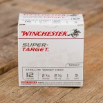 "Winchester Super Target 12 Gauge Ammunition - 25 Rounds of 2-3/4"" 1 oz. #9 Shot"