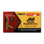 Aguila Super Extra 22 LR Ammunition - 50 Rounds of 40 Grain CPRN