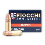 Fiocchi 22 LR Ammunition - 500 Rounds of 40 Grain CPRN