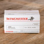 Winchester Value Pack 45 ACP Ammunition - 100 Rounds of 230 Grain FMJ