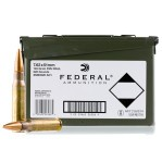 Federal Ammo Can 7.62 NATO Ammunition - 220 Rounds of 149 Grain FMJ