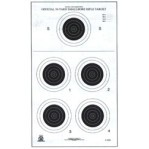 A-23/5 Paper Targets - 50 Yd Smallbore Rifle - 100 Count