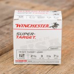 "Winchester Super Target 12 Gauge Ammunition - 250 Rounds of 2-3/4"" #7.5 Shot"