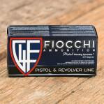 Fiocchi 357 Magnum Ammunition - 50 Rounds of 142 Grain FMJTC