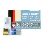"Fiocchi Game & Target 12 Gauge Ammunition - 250 Rounds of 2-3/4"" 1-1/8 oz. #8 Shot"