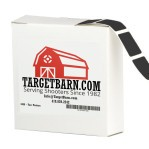 """Black Target Pasters - 1000 Count - 7/8"""" Boxed Square Adhesive Pasters"""