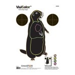 VisiColor Practice Prairie Dog Target - Multi-Color Reactive Anatomy - Champion - 10 Count