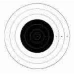 SR-42 Paper Targets - 200 Yd High Power Rifle - 100 Count