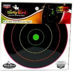 """Birchwood Casey Dirty Bird Multi-Color Targets - 20 Reactive Targets - 8"""" Bullseye"""