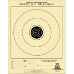 TQ-1/1 Paper Targets - 50 Ft - Junior Rifle  - 100 Count