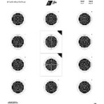 USA / NRA 50 Paper Targets - 50 Ft Smallbore Rifle - 100 Count