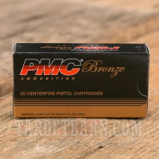 PMC Bronze 380 ACP Ammunition - 1000 Rounds of 90 Grain FMJ