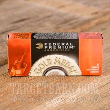 Federal Gold Medal Match 223 Remington Ammunition - 200 Rounds of 77 Grain BTHP