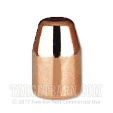 """.356"""" Berry's 9mm Luger Bullets - 1000 Count - 124 Grain Plated Flat Point-Double Struck"""