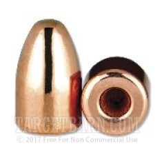 """.356"""" Berry's 9mm Luger Bullets - 1000 Qty - 124 Grain Plated Round Nose"""