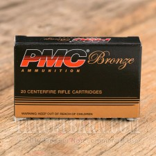 PMC 223 Remington Ammunition - 20 Rounds of 55 Grain FMJ-BT