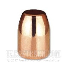 ".401"" Berry's 40 Caliber Bullets - 1000 Qty - 180 Grain Plated Round Shoulder-Double Struck"