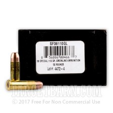 38 Special - 110 Grain Frangible - SinterFire Greenline - 50 Rounds