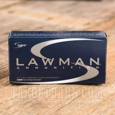 Speer Lawman 40 S&W Ammunition - 1000 Rounds of 165 Grain TMJ