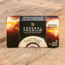 Federal Hydra-Shok 357 Magnum Ammunition - 50 Rounds of 158 Grain JHP