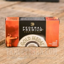 Federal Gold Medal Match 45 ACP Ammunition - 50 Rounds of 230 Grain FMJ